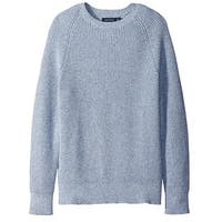 Nautica NEW Chrome Blue Mens Size XL Crewneck Textured Knit Sweater