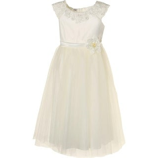 Kid Collection Girls Tulle Party Dress - 8
