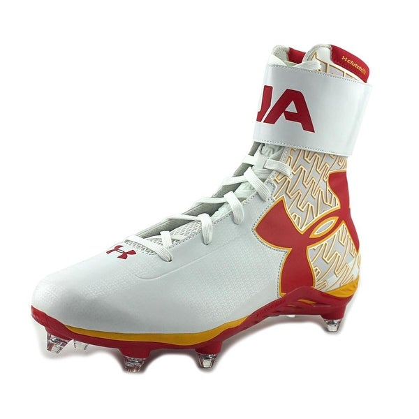 Under Armour Team C1N D W Men Wht/Red/Sgd Cleats