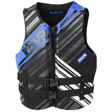 Rave Sports Men's Neoprene Life Vest - Medium Neoprene Life Vest