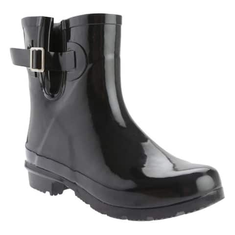 Nomad Women's Droplet Rain Boot Black