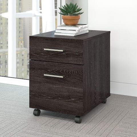 Kensington 2 Drawer Mobile File Cabinet by Bush Furniture
