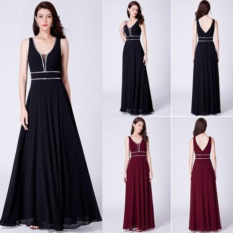 Ever-Pretty Women's Classic Chiffon Formal Evening Party Prom Bridesmaid Dress 07442