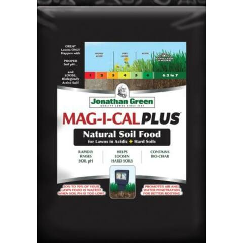 Jonathan Green 11354 MAG-I-CAL Plus for Lawns in Acidic + Hard Soil, 5000 Sq.Ft.