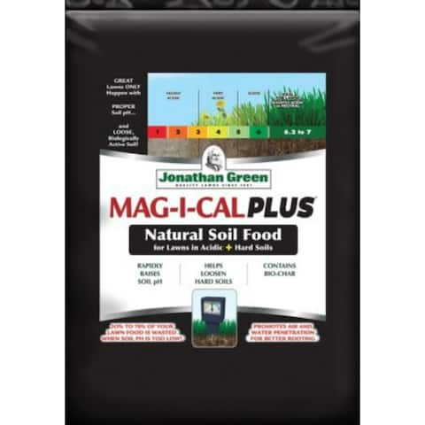 Jonathan Green 11355 MAG-I-CAL Plus for Lawns in Acidic + Hard Soil, 15000 Sq.Ft