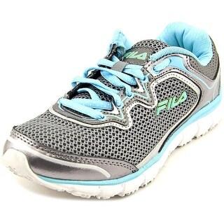 Fila Memory Fresh Start SR Women Round Toe Synthetic Gray Running Shoe