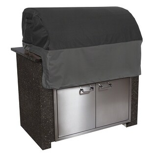 Classic Accessories 55-500-360401-EC Built-In Grill Cover - Extra Small, Black