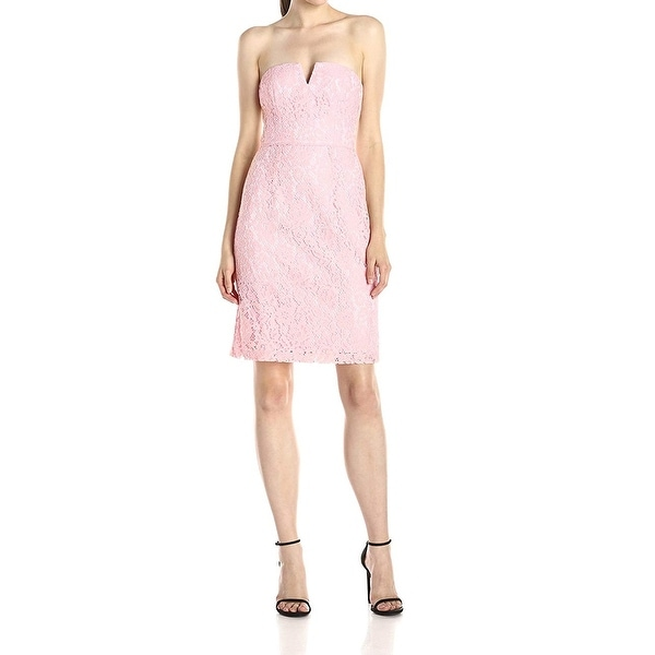 Donna Morgan Womens Dress Light Pink