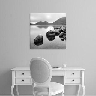 Easy Art Prints PhotoINC Studio's 'Silent Lake' Premium Canvas Art