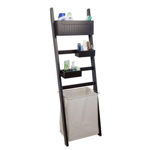 Danya B BQ0738 61  Tall Leaning Storage Rack with H&er  sc 1 st  Overstock.com & Shop Danya B BQ0738 61