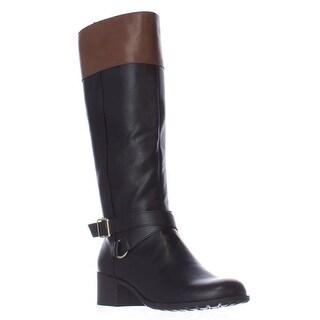 SC35 Vedaa Riding Boots, Black/Barrel