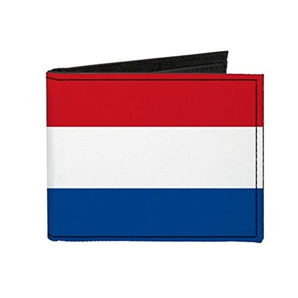 Buckle-Down Canvas Bi-fold Wallet - Netherlands Flag Accessory