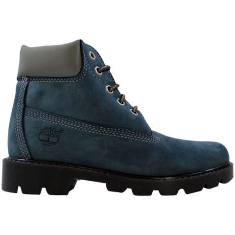 Timberland Classic 6 Inch Boot China Blue/Nubuck 11700 Pre-School