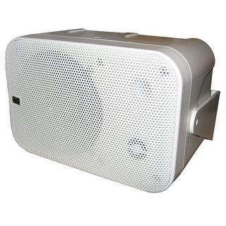 PolyPlanar 13571W Poly-Planar B0X 200W White Waterproof Full Size Box Speakers Pair