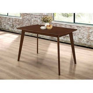 Link to Carson Carrington Lulejo Mid-century Modern Chestnut Dining Table Similar Items in Dining Room & Bar Furniture