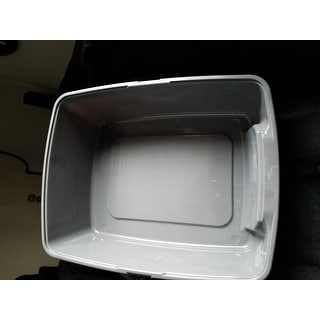 IRIS Litter Box with Shield and Scoop