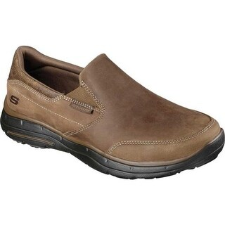 Skechers Men's Relaxed Fit Glides Calculous Slip On Desert