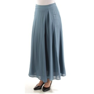 Womens Blue Casual Skirt Size 4