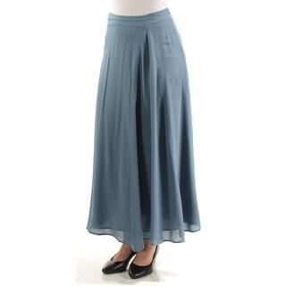 MAXMARA $425 Womens New 1044 Blue Maxi Pencil Casual Skirt 4 B+B