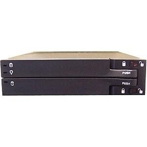 """""""SIIG SC-SA0C12-S1 SIIG MobileRack Hard Drive Enclosure - 2 x 2.5"""" - Front Accessible - Serial ATA, Serial ATA - Internal"""""""