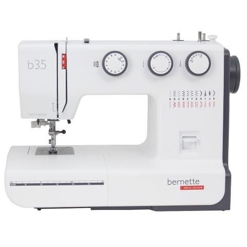 "Bernette 35 Swiss Design Sewing Machine - 9"" x 14"" x 17"""