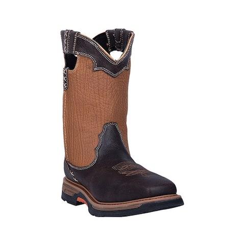 Dan Post Western Boots Mens Hurricane Leather Waterproof Rust