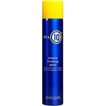 it's a 10 Miracle Finishing Spray, 10 oz