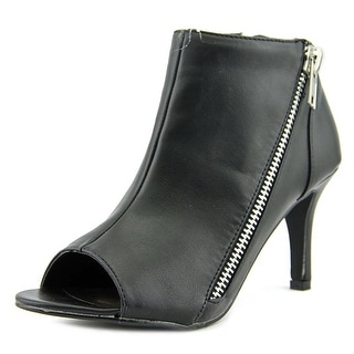 Michael Antonio Fants   Peep-Toe Synthetic  Ankle Boot