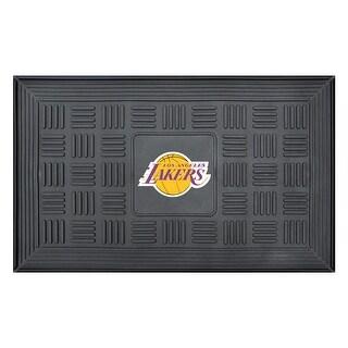Los Angeles Lakers Medallion Door Mat