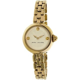 Marc Jacobs Women's Courtney MJ3457 Gold Stainless-Steel Quartz Fashion Watch
