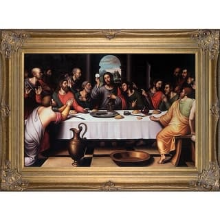 Juan de Juanes 'The Last Supper' Hand Painted Oil Reproduction|https://ak1.ostkcdn.com/images/products/is/images/direct/981e975af22b1b32a9b600399004e37003f867cc/Juan-de-Juanes-%27The-Last-Supper%27-Hand-Painted-Oil-Reproduction.jpg?impolicy=medium