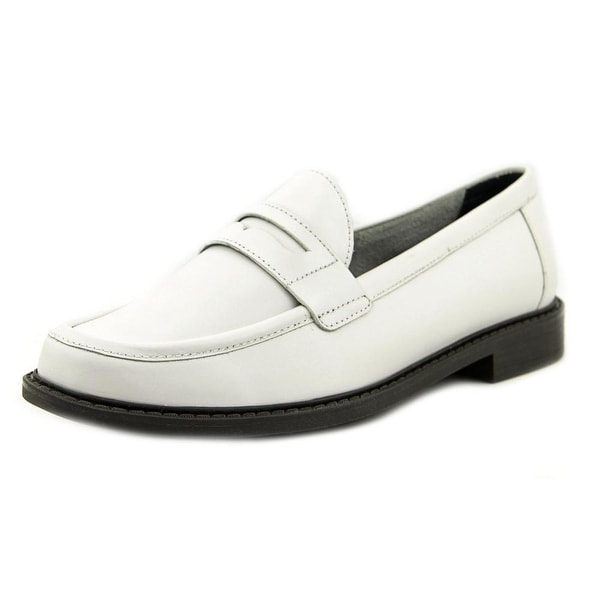Cole Haan Pinch Campus Penny Women White Loafers