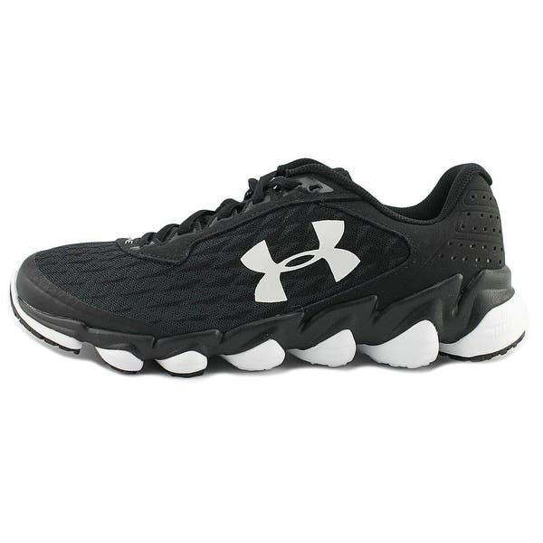 online store a8e18 b62fb Shop Under Armour Spine Disrupt BLK/BLK/WHT Running Shoes ...