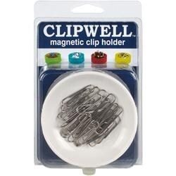 White - CLIPWELL Magnetic Clip Holder