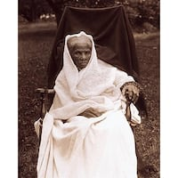 ''Harriet Tubman at Her Home in Auburn, NY, 1911'' by McMahan Photo Archive African American Art Print (10 x 8 in.)
