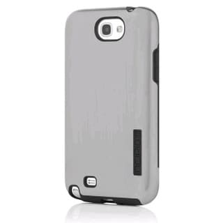 Incipio Dual Pro Shine Case for Samsung Galaxy Note 2 - Silver/Black (SA-326)