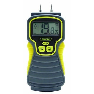 General Tools MMD4E Pin-Type LCD Moisture Meter