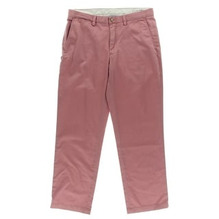Polo Ralph Lauren Mens Chino Pants Twill Flat Front