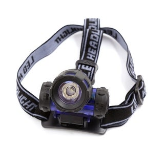 Unique Bargains 3W White LED Adjustable Angle Elastic Strap Headlight Headlamp Torch for Camping