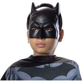 Batman Costume Mask Child One Size - Black