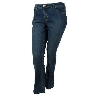 Style & Co. Women's Modern Boot Embellished Jeans