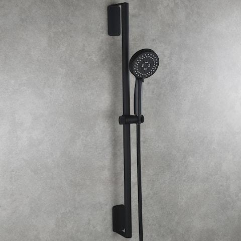 Bathroom Stainless Steel Shower Set with Lengthened Shower Sliding Bar