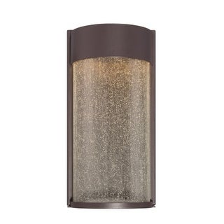 "Modern Forms WS-W2412 Rain 12"" Indoor / Outdoor Dimmable LED ADA Compliant Wall Light"