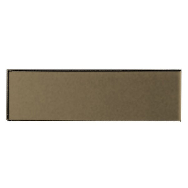 """Miseno MT-WHSFOM0312-BR Forever - 3"""" x 12"""" Rectangle Wall Tile - Matte Visual - Bronze"""