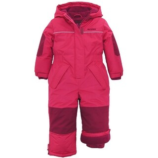 Pink Platinum Toddler Girls Puffer Winter Snowsuit Snowmobile Snowboard Ski Suit (2 options available)