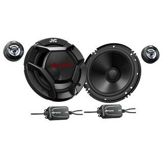 """JVC CS-DR600C 6.5"""" 2-Way Component Speakers"""