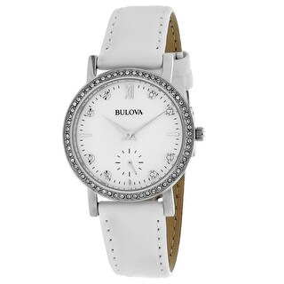 Bulova Women's Crystal 96L245 Mother of Pearl Dial watch
