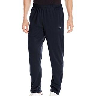 Champion NEW Blue Navy Mens Size Medium M Powertrain Fleece Pants