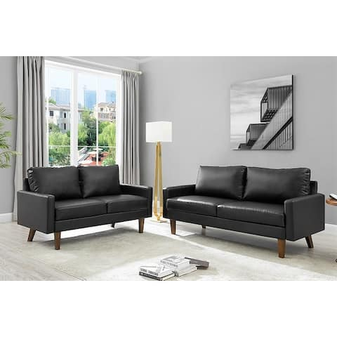 Lincoln 2 Piece Living Room set Sofa and Loveseat