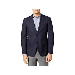 Ryan Seacrest Mens Sportcoat Slim Fit Business Wear